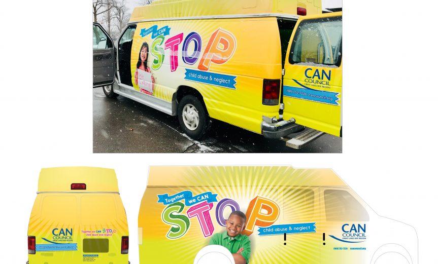 CAN Council Van Wrap