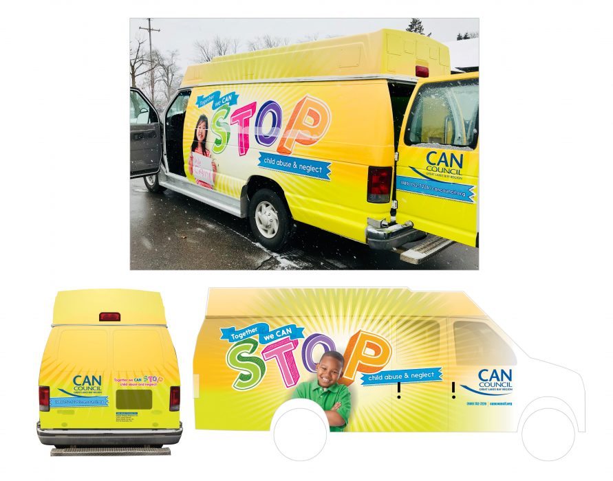 CAN Council Van Wrap
