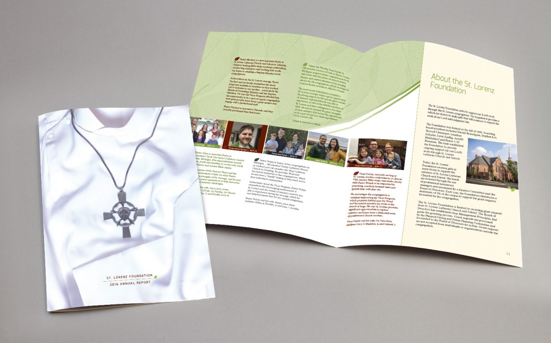 St. Lorenz Foundation Annual Report